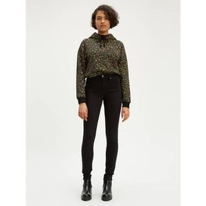 Levi's Black High Rise Slimming SkinnyJeans